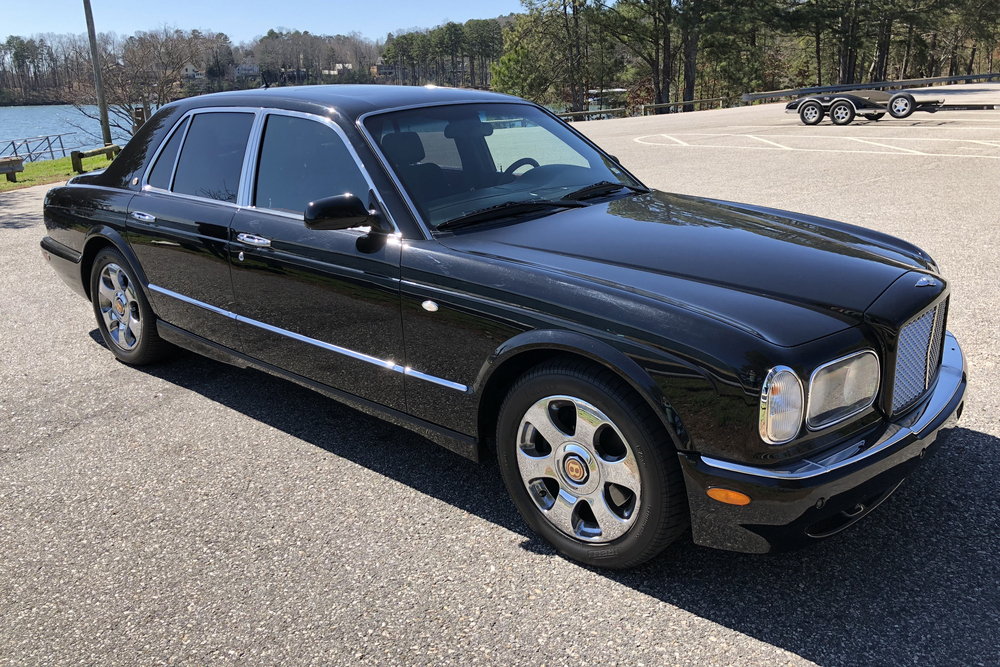 2003 BENTLEY ARNAGE RED LABEL TURBO - Front 3/4 - 234070