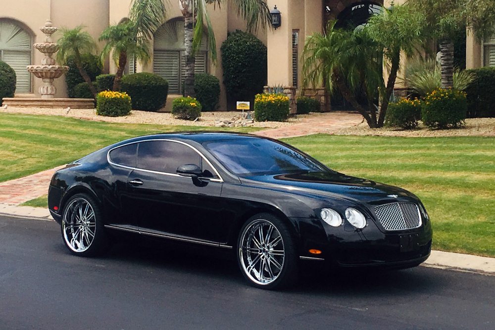 2005 BENTLEY CONTINENTAL GT - Front 3/4 - 234109