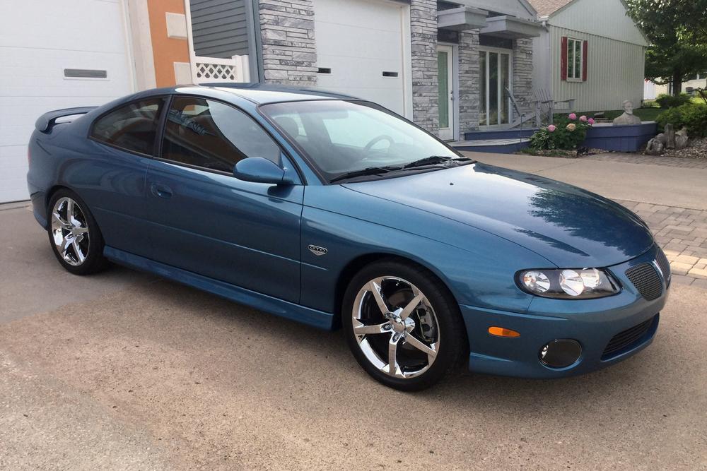 2004 PONTIAC GTO - Front 3/4 - 234279