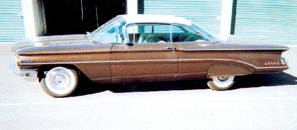 1960 OLDSMOBILE SUPER 88 HARDTOP - Front 3/4 - 23608