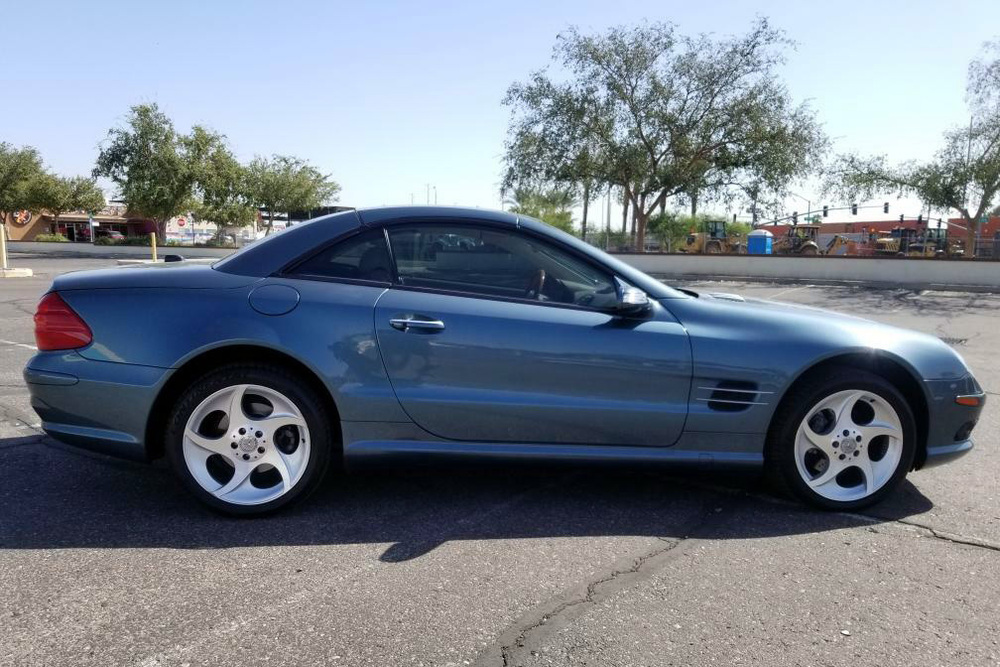 2004 MERCEDES-BENZ SL500 ROADSTER - Side Profile - 236083