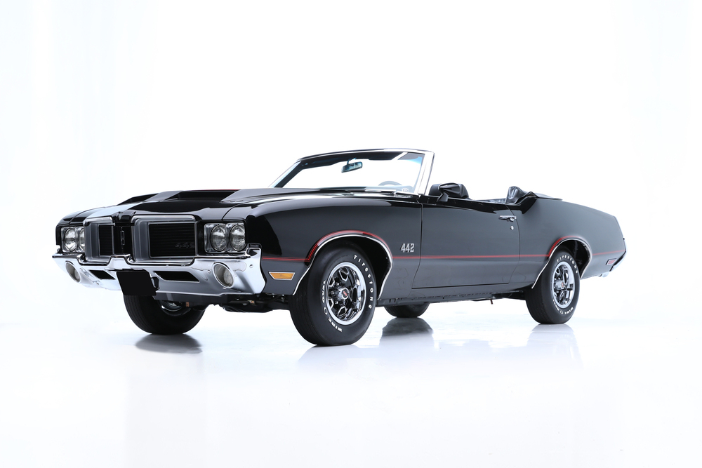 1971 OLDSMOBILE 442 CONVERTIBLE - Front 3/4 - 236223