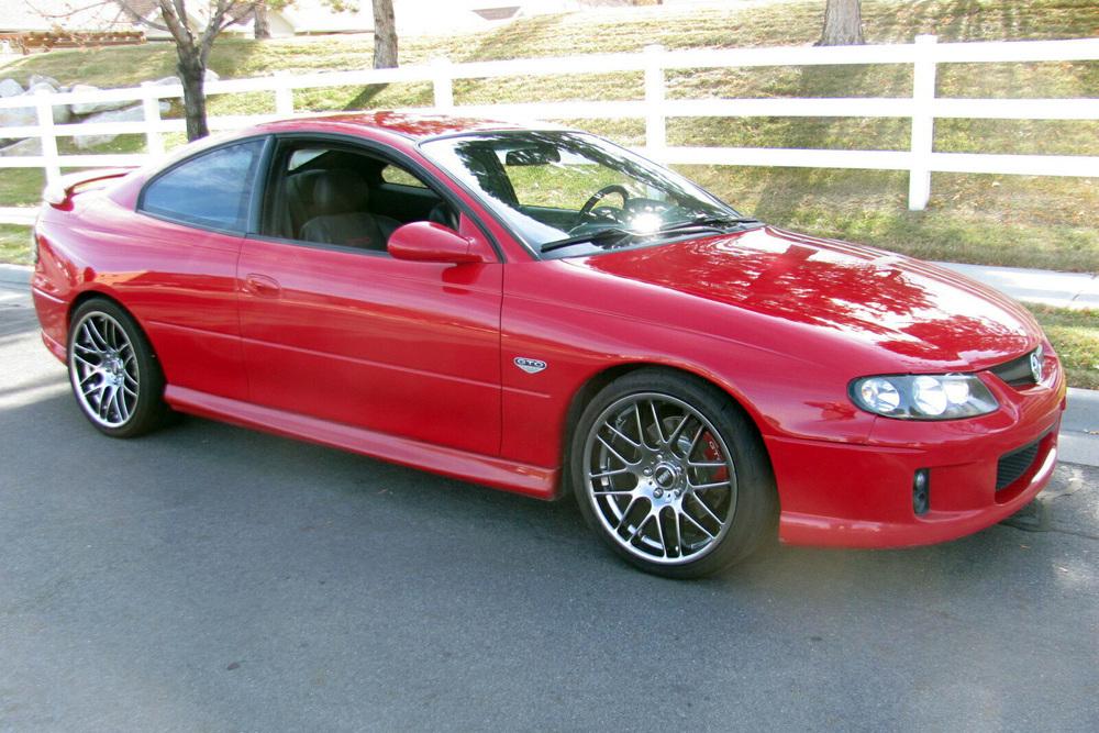 2004 PONTIAC GTO - Front 3/4 - 237783