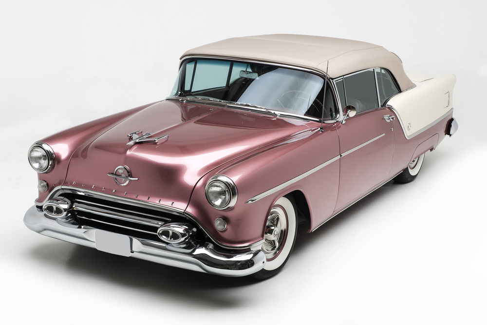 1954 OLDSMOBILE SUPER 88 CONVERTIBLE - Front 3/4 - 237991