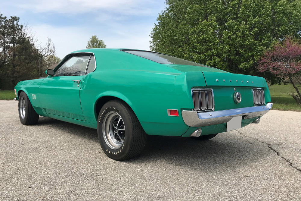 1970 FORD MUSTANG BOSS 429 - Rear 3/4 - 242269