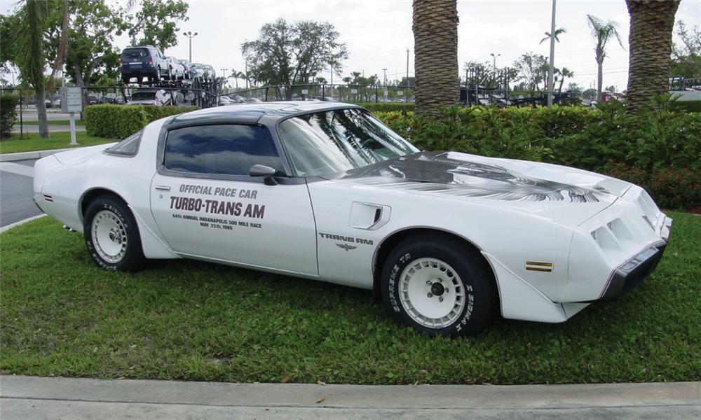 1980 PONTIAC FIREBIRD TRANS AM PACE CAR - Front 3/4 - 39696