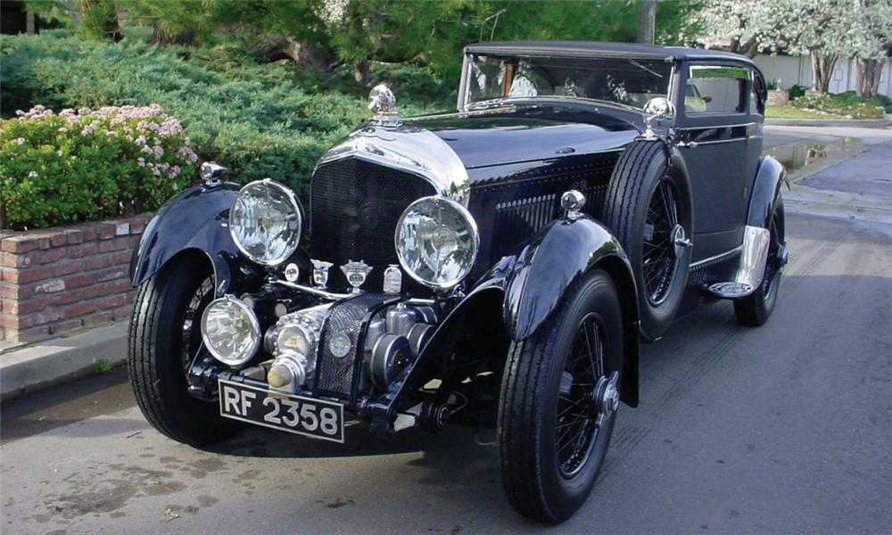 1931 BENTLEY ZER-GREEN AERO COUPE HOT ROD - Front 3/4 - 39934