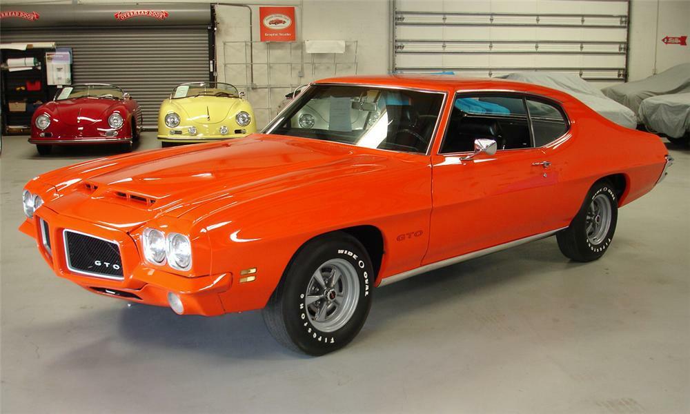 1971 PONTIAC GTO COUPE - Front 3/4 - 40160
