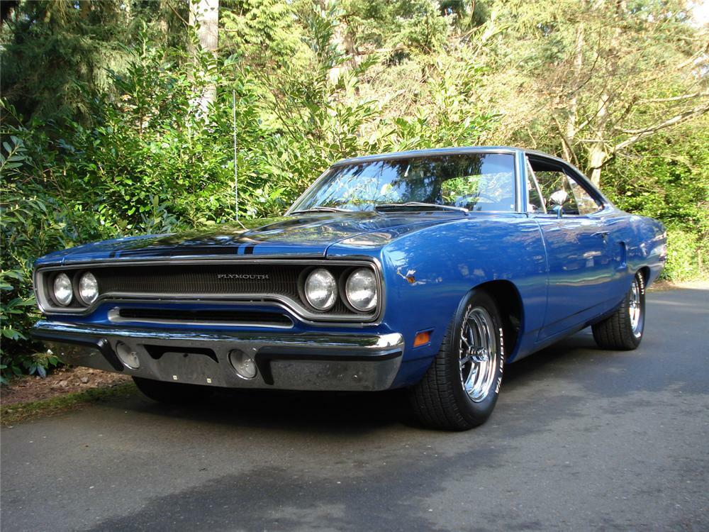 1970 PLYMOUTH ROAD RUNNER 2 DOOR HARDTOP - Front 3/4 -         64266