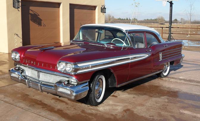 1958 OLDSMOBILE SUPER 88 4 DOOR SEDAN - Front 3/4 - 82767