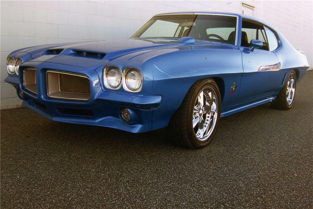 1972 PONTIAC GTO CUSTOM COUPE - Front 3/4 - 96470