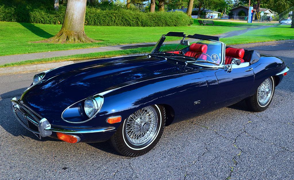 1971 Jaguar Xke Roadster Low Mileage For Sale Car Auction