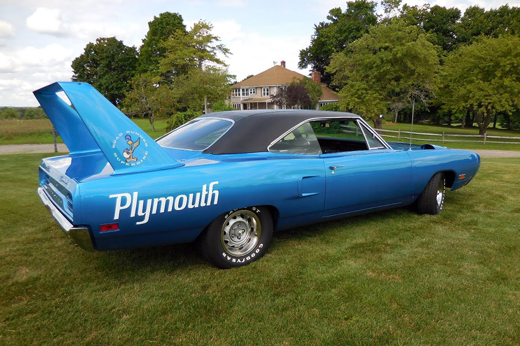 1970 Plymouth Superbird For Sale No Reserve Scottsdale Auction