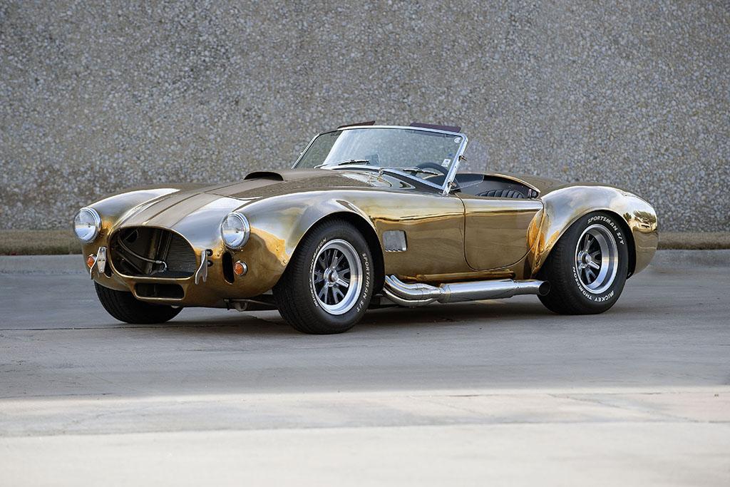 1965 Kirkham Cobra in Chrome New Metal Sign Fully Restored