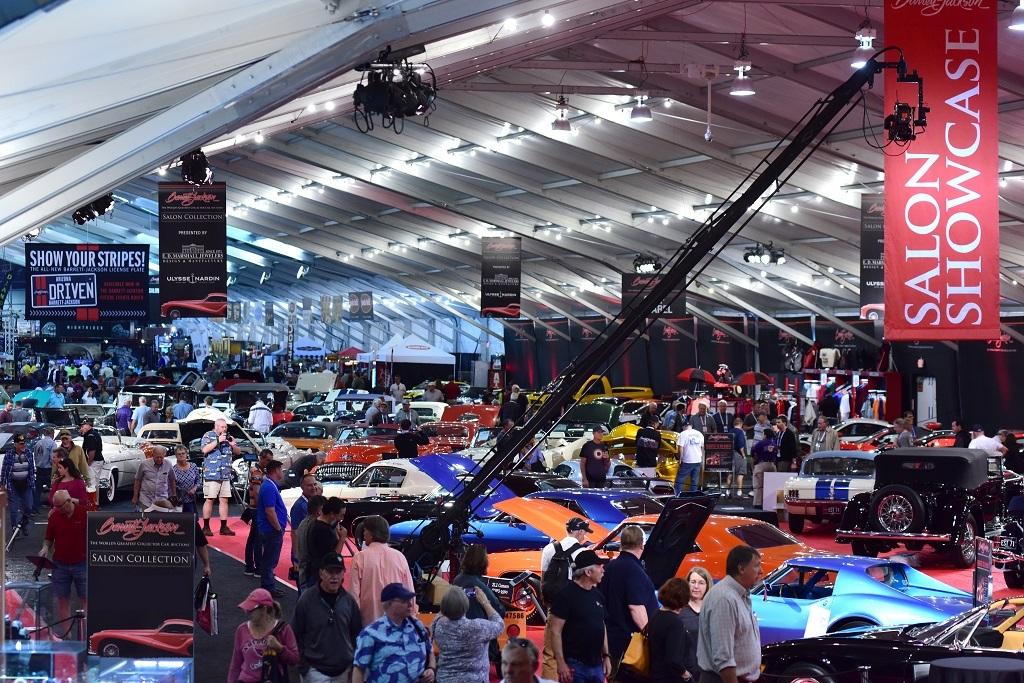 Barrett Jackson Poised For Historic Super Saturday At - Barrett jackson car show scottsdale