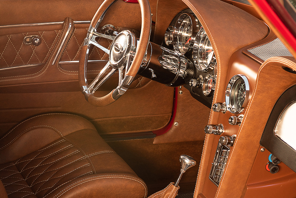 1963 Chevrolet Corvette Split-Window Custom Coupe_Interior