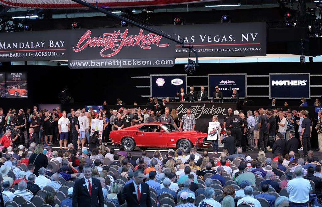 Barrett Jackson Wraps Record Breaking Th Anniversary Year With - Barrett jackson car show las vegas