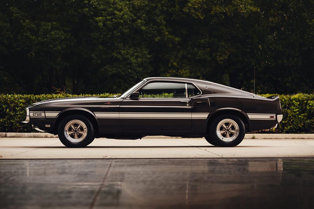 Lot #689 ‒ 1969 Shelby GT500_side