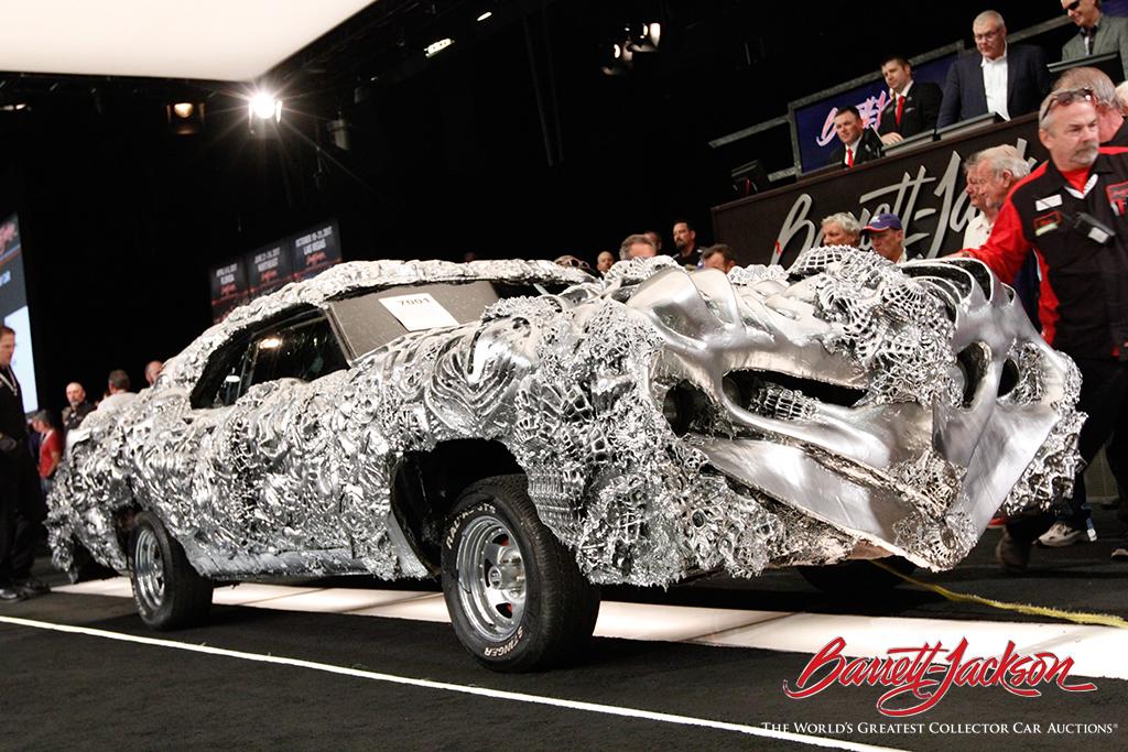 Day Highlights Barrett Jackson Scottsdale Auction - Barrett jackson car show scottsdale