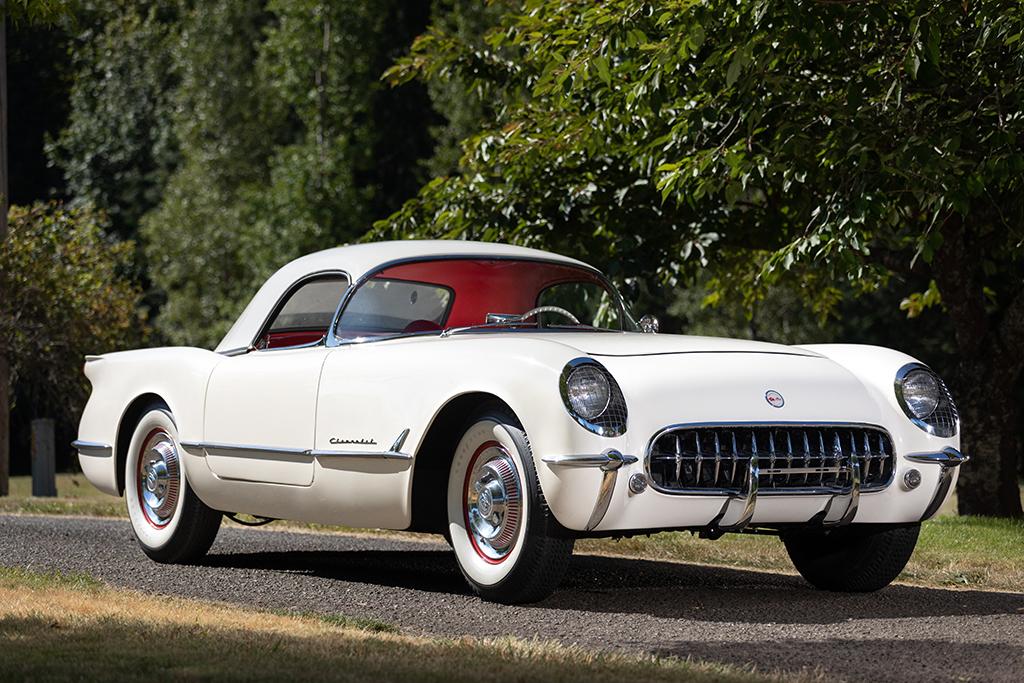 Chevrolet Las Vegas >> 2019 Las Vegas Auction Feature Car 1953 Chevrolet Corvette 235150
