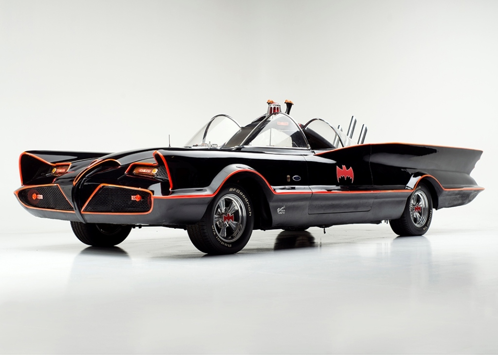 The Original 1 Batmobile On Offer At The Barrett Jackson Collection