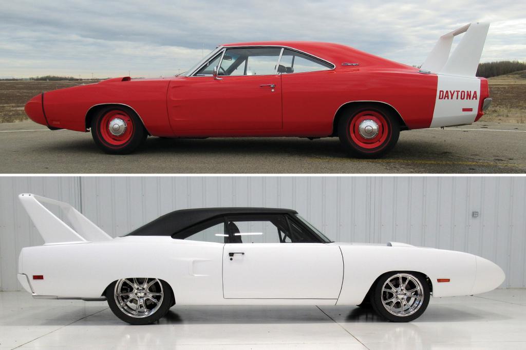 1969 Dodge Daytona 1970 Plymouth Road Runner Superbird Re Creation