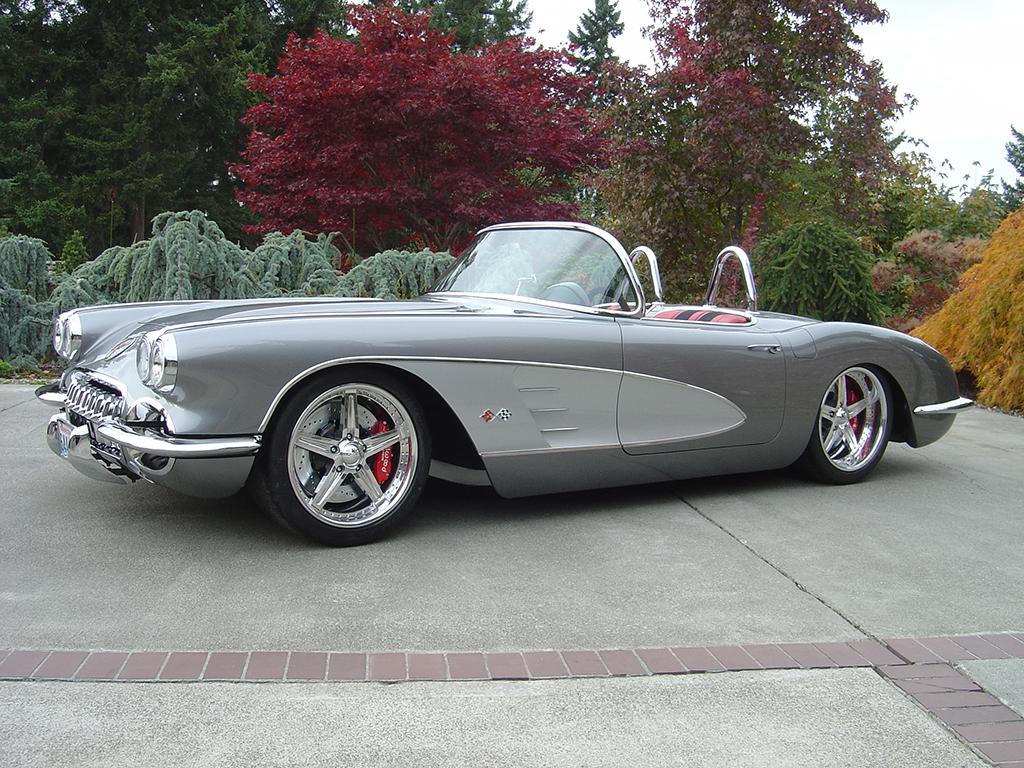 """1960 Chevrolet Corvette Custom Convertible """"3G"""""""