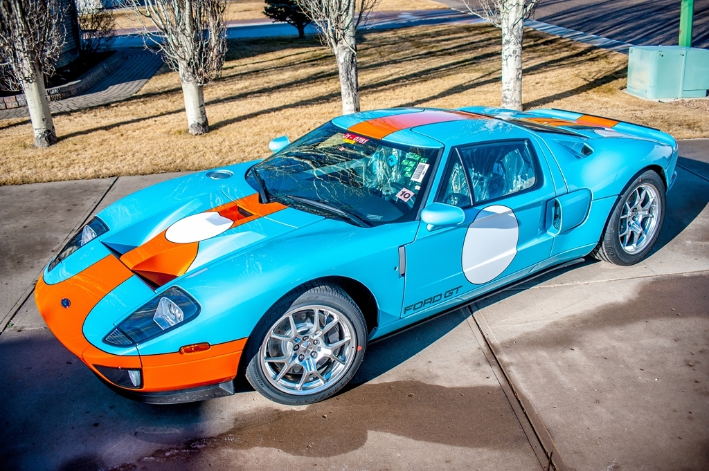 This Still In The Wrapper  Ford Gt Heritage Edition Lot