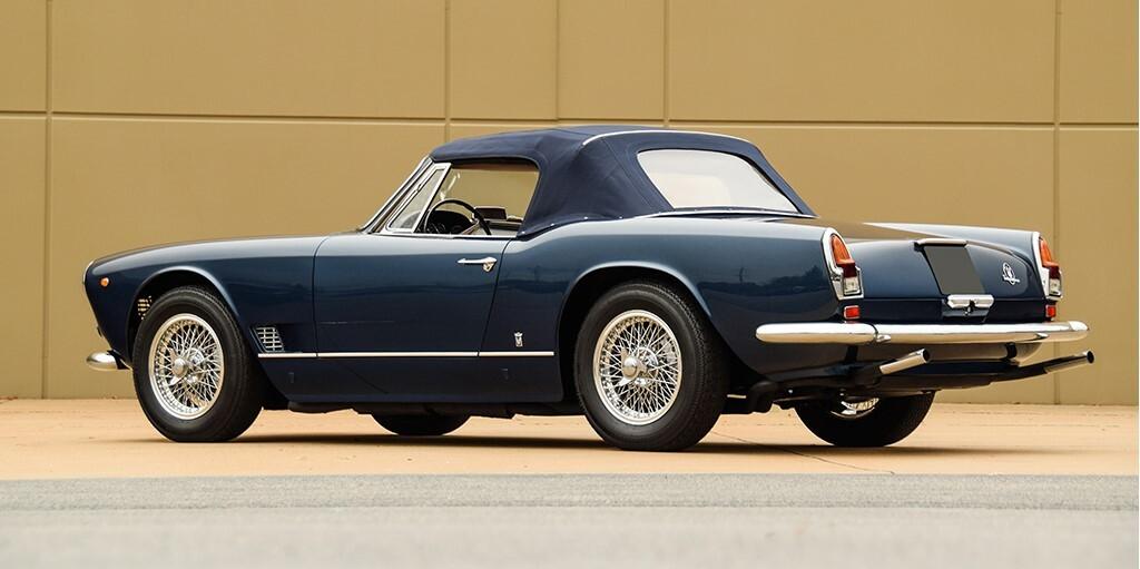 1963 Maserati 3500 Gt Vignale Spyder For Sale Car Auction Specs