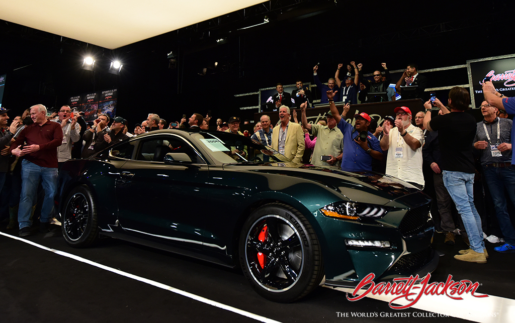 Classic Car Sales Scottsdale Auction Day Seven Highlights - Barrett jackson car show
