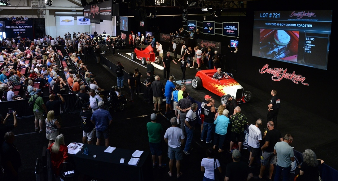 Barrett Jackson Gears Up For Rd Annual Hot August Nights Auction - Car show reno sparks convention center