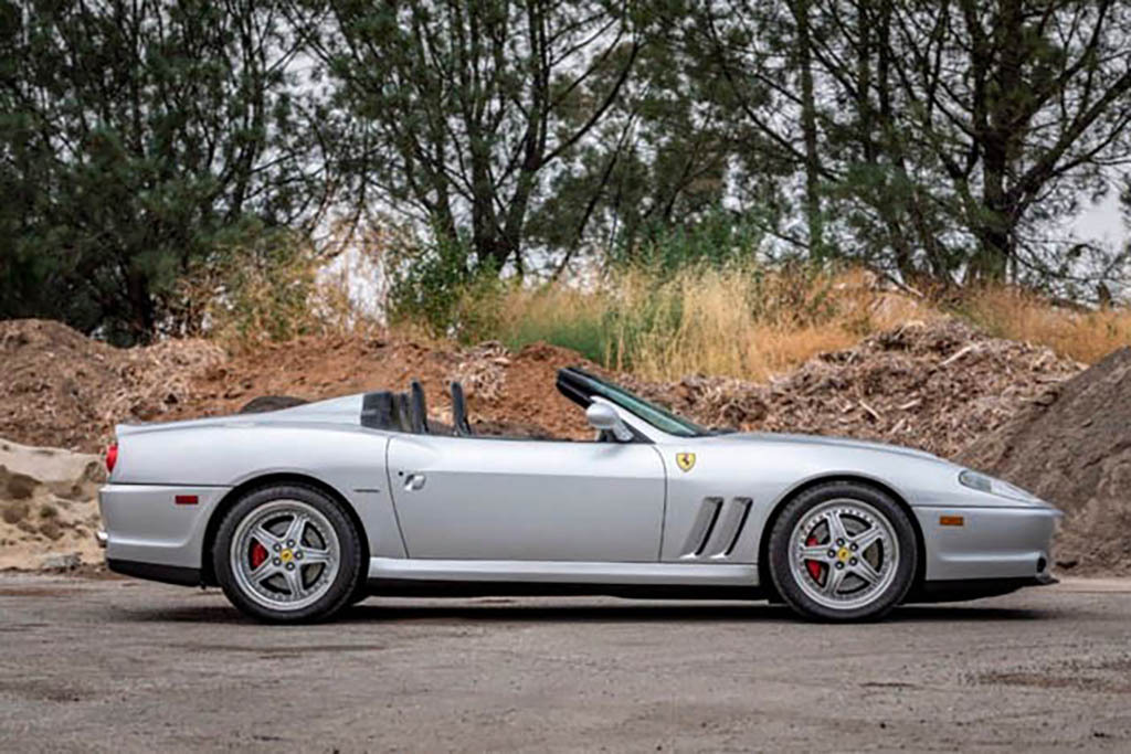 2001 Ferrari 550 Barchetta For Sale No Reserve Scottsdale Auction