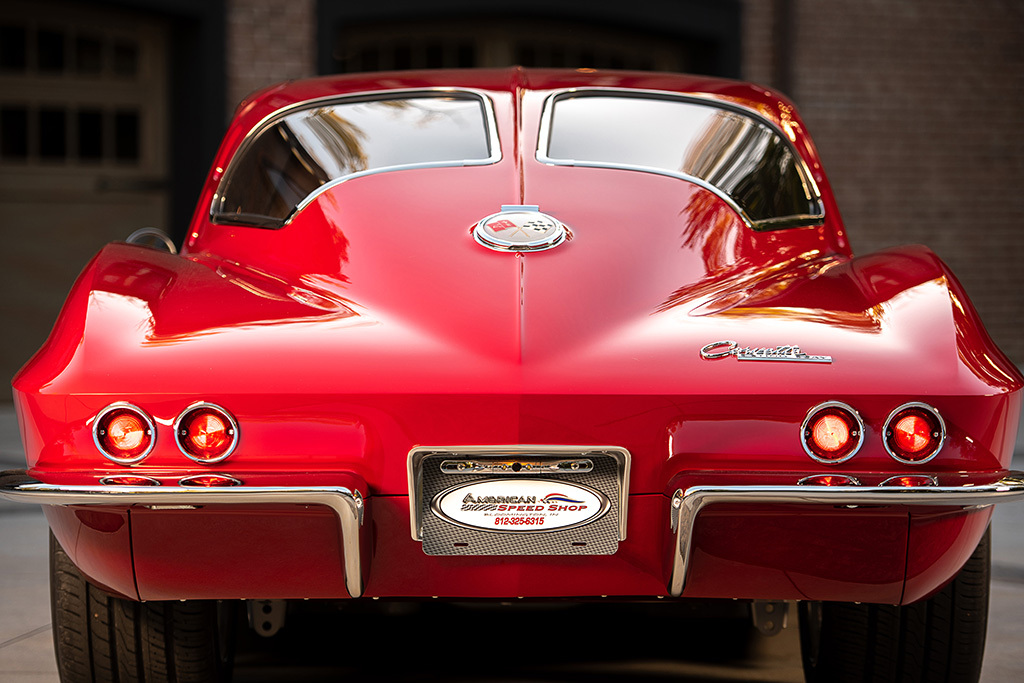 1963 Chevrolet Corvette Split-Window Custom Coupe_Rear