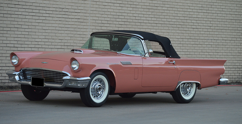 1957 Ford Thunderbird E Code Rare Specs Auto Auctions Scottsdale For
