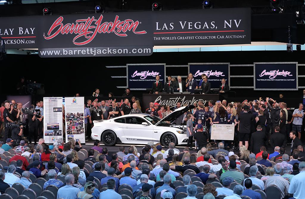 Barrett Jackson Las Vegas Charity Cars - Barrett jackson car show las vegas