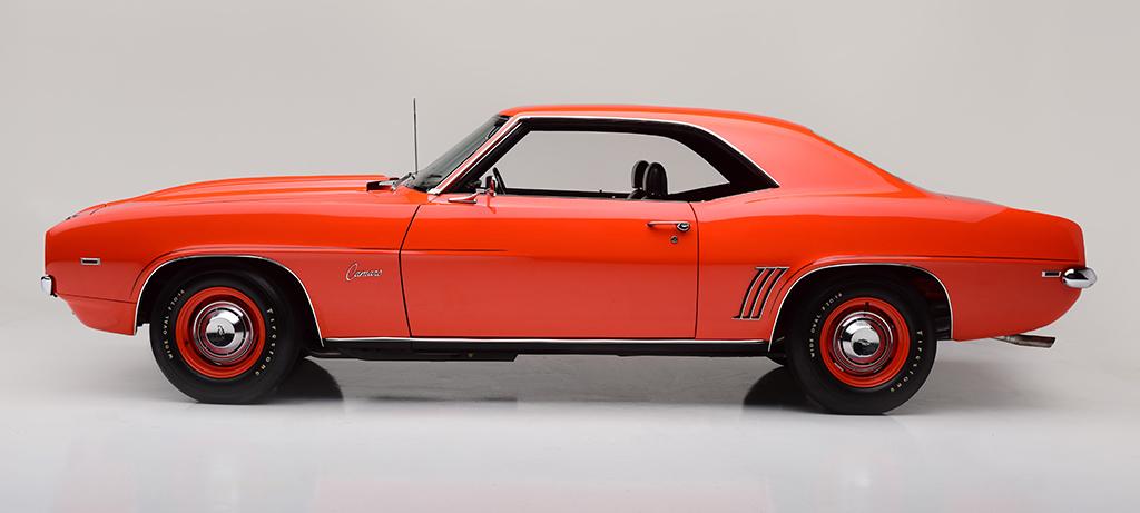 Copo Camaro For Sale >> 1969 Chevrolet Camaro Zl1 Copo Rare Specs For Sale Auction