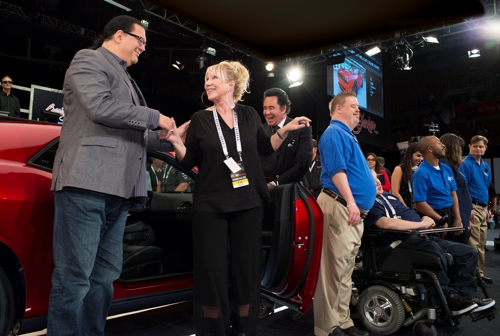 Las Vegas Barrett Jackson The Jackson Family Foundation Charity Cars - Barrett jackson car show las vegas