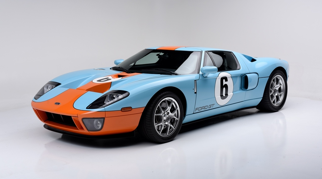 Dressed In Heritage Blue With Orange In Tribute To The Gult Oil Gts Back To