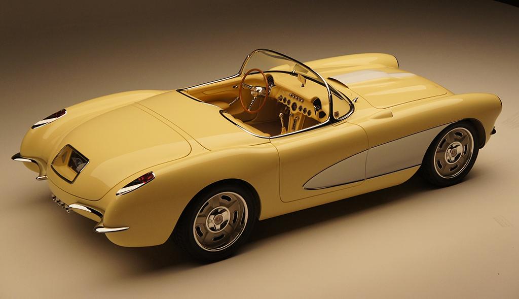 1957 Chevrolet Custom Corvette Roadster For Sale Scottsdale Auction