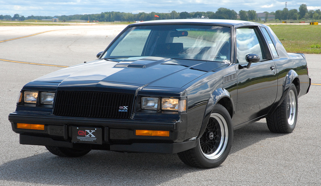 1987 Buick Grand National Gnx 003 Specs Rare For Sale