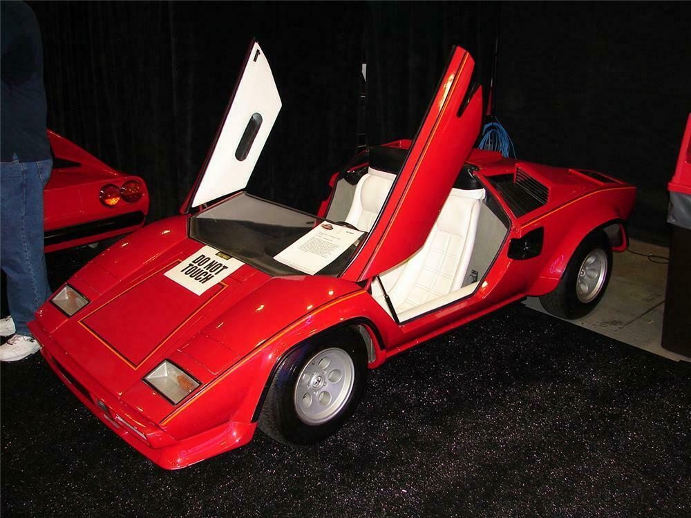 1985 Lamborghini Countach Hand Built Agostini Auto Junior Rar
