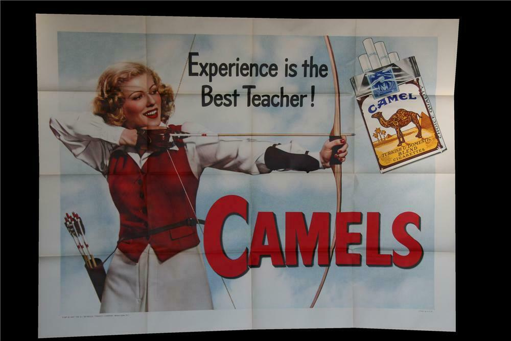 Striking N O S  1948 Camel Cigarettes 'Experience Is The Best