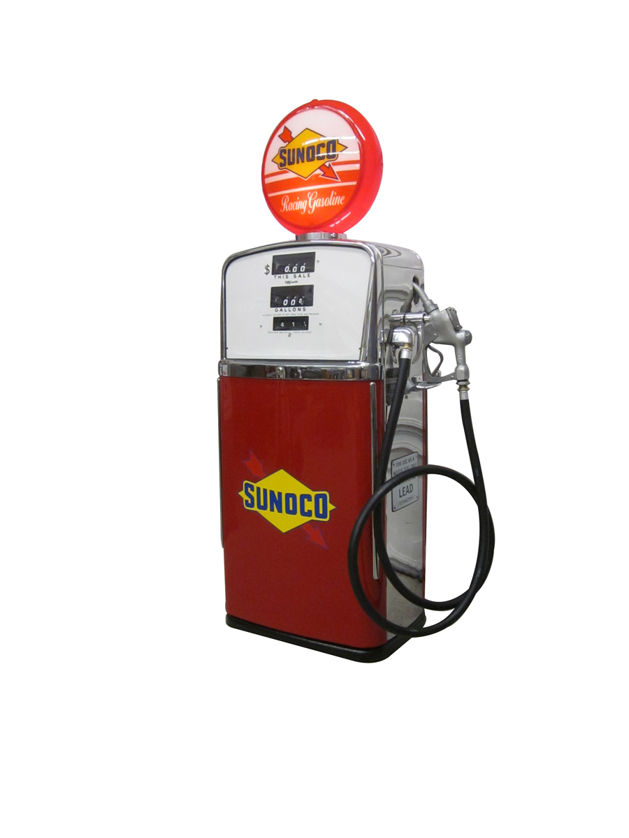 Sharp 1958 A O Smith model 483 gas pump completely restored t