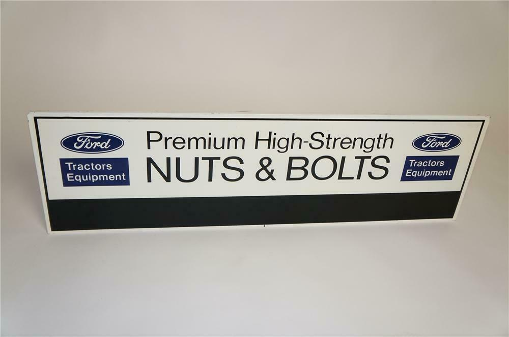 Vintage Ford Tractors Equipment 'Nuts and Bolts' single-sided