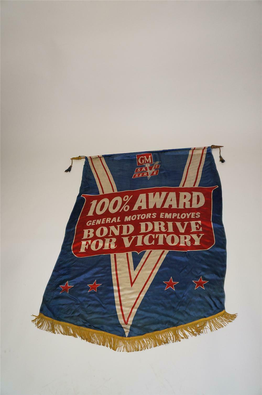 Fine Rare World War Ii Gm Bond Drive For Victory Silk Dealership Download Free Architecture Designs Scobabritishbridgeorg