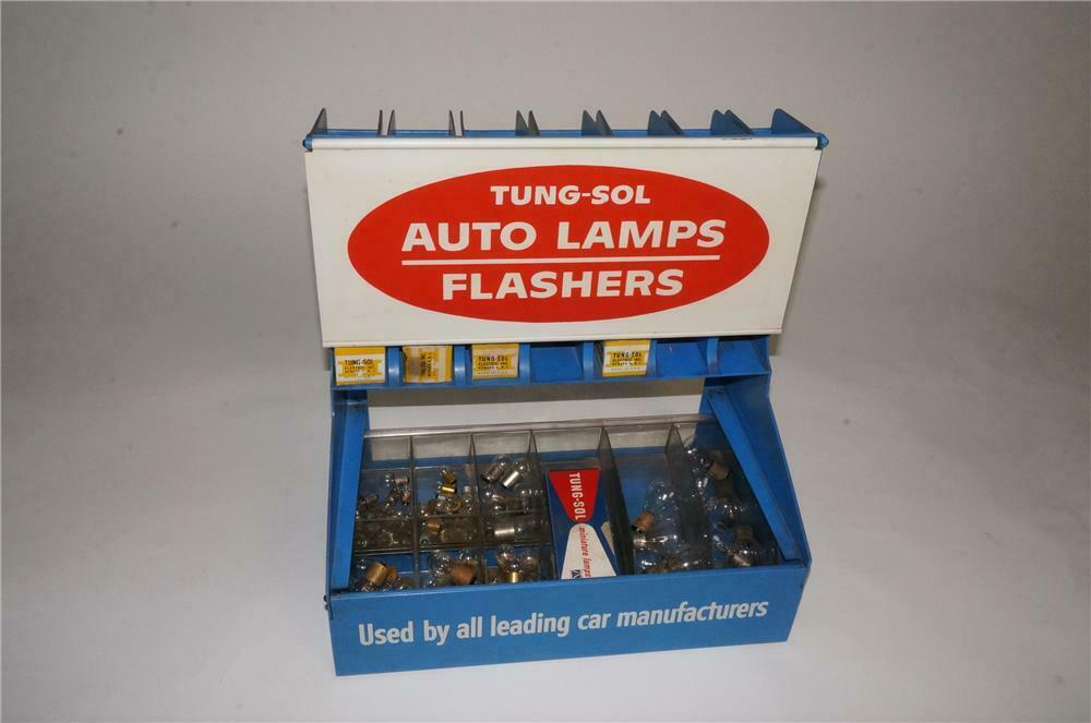 Vintage Tung-Sol Auto Lamps - Flashers counter-top display fi
