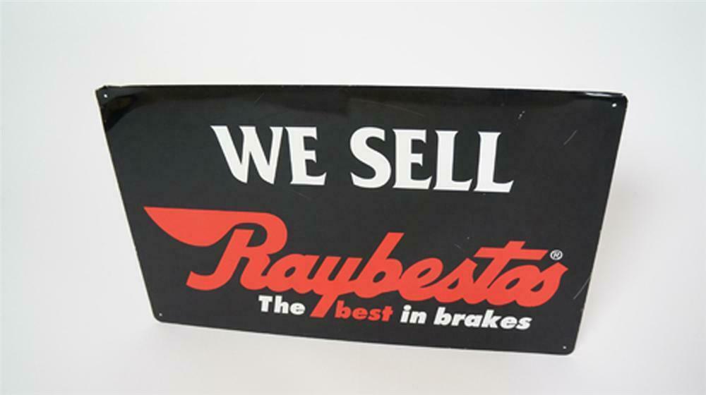 Vintage We Sell Raybestos Brakes single-sided tin automotive