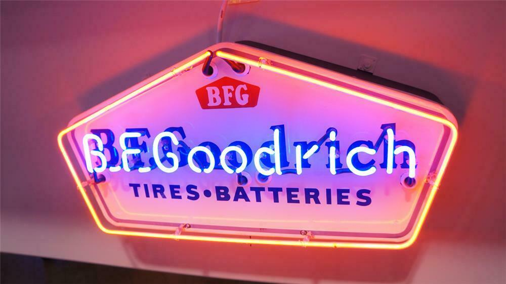 fef3cd60c8b Wonderful 1950's B.F. Goodrich Tires-Batteries single-sided p