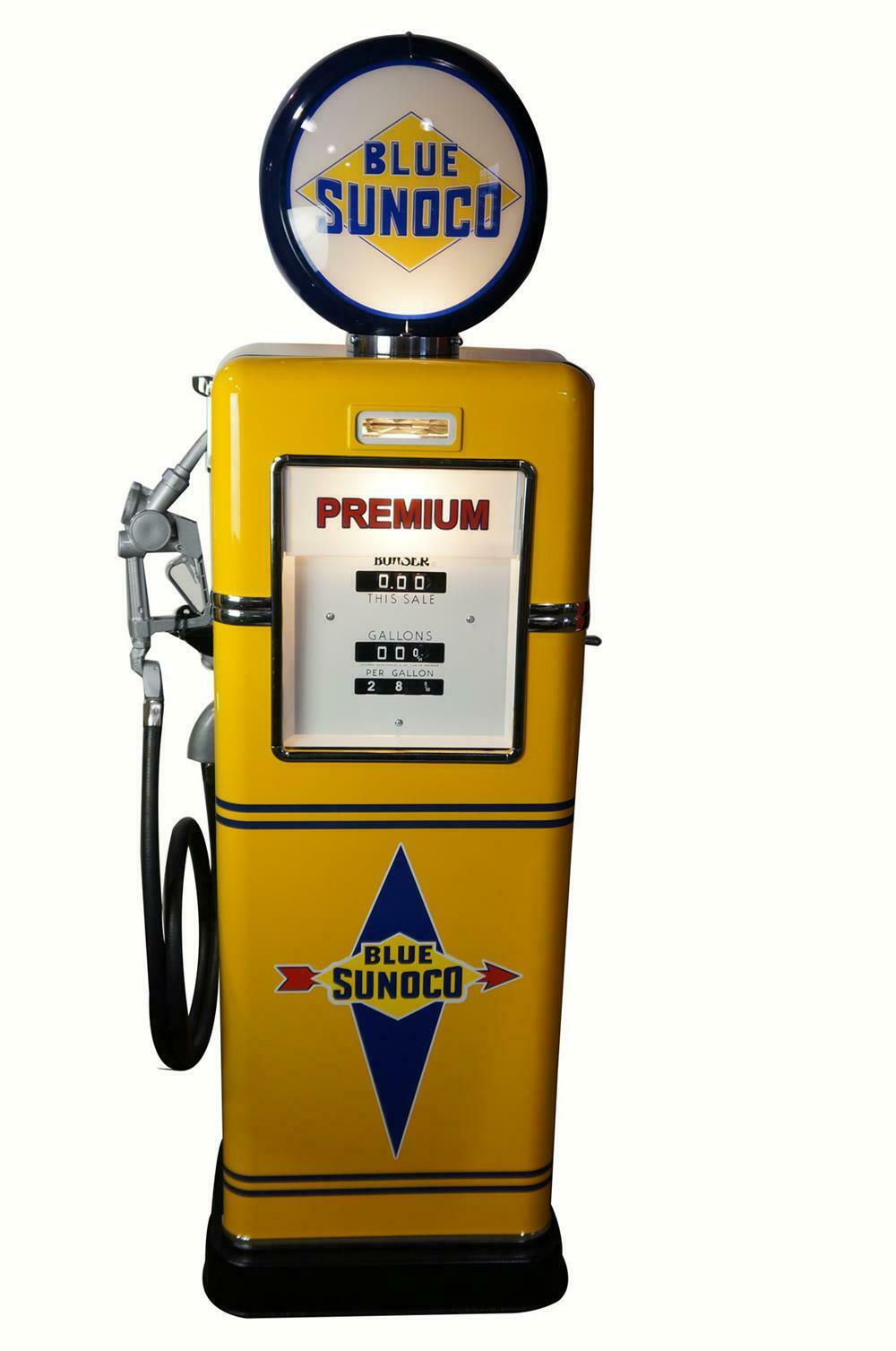 Car Auctions Ny >> Late 1940's-early 50's Sunoco Oil Bowser model 595 restored s