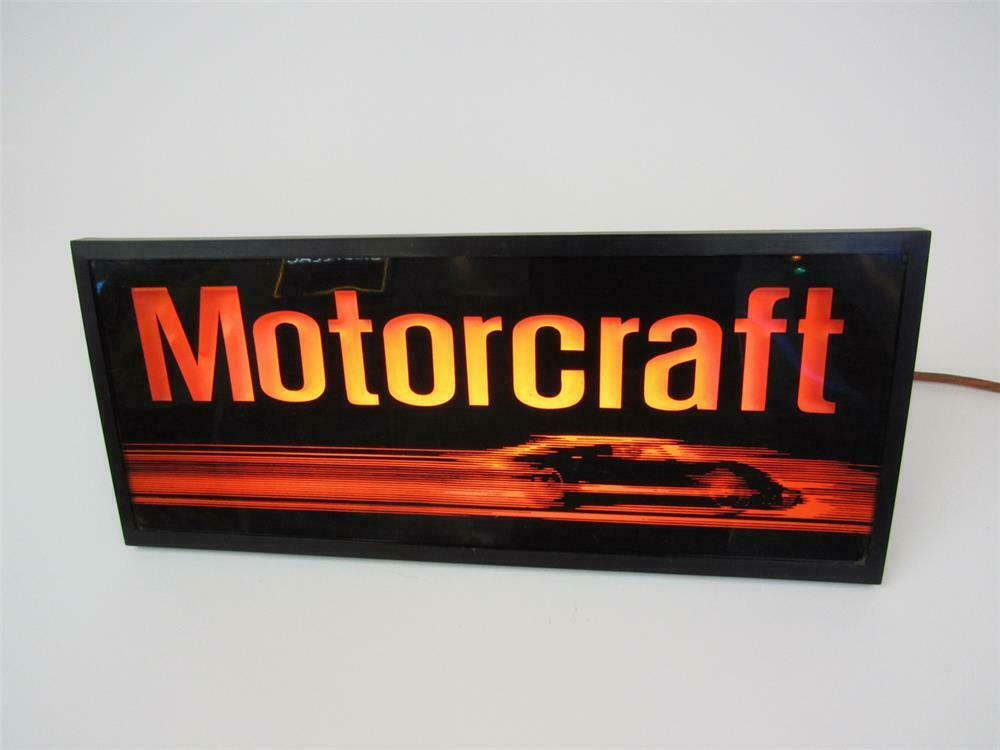 Choice Vintage Ford Motorcraft Parts Service Department Light